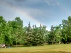 Midsummer rainbow (photo by M. Peuramäki-Brown)
