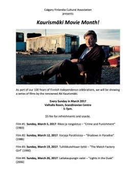 Kaurismäki Movie Month